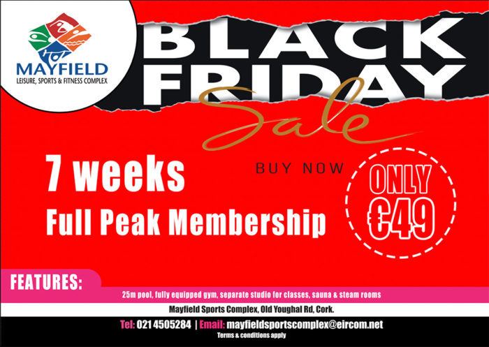 Black-Friday-Red-landscape - Mayfield Sports Complex 2017